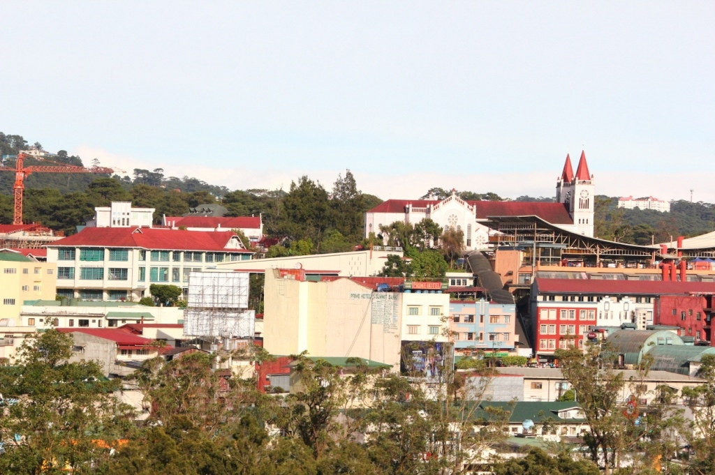 study-english-philippines-Baguio-View