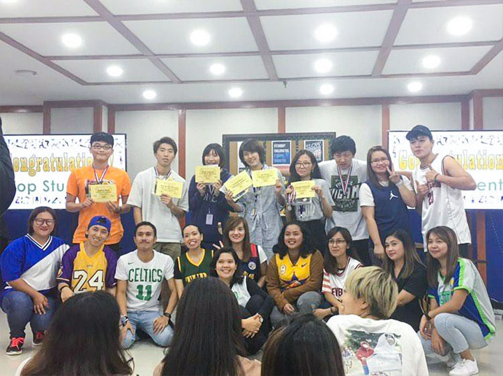 study english in baguio makino ryohei's intensive course review