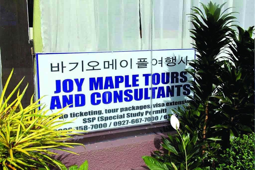 study english baguio maple tour