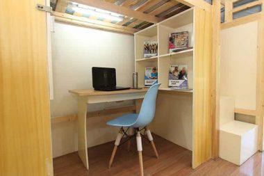 pines accommodation study area